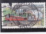 Sellos de Europa - Dinamarca -  estacíón de tren