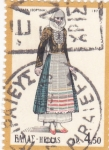 Stamps : Europe : Greece :  traje regional