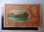 Stamps America - Trinidad y Tobago -  Queen´s Park Savannam - Rey George VI