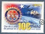 Sellos del Mundo : America : Chile : 100 Años Rotary International