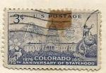 Sellos de America - Estados Unidos -  75 aniversario Colorado (810)
