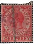 Stamps Gibraltar -  George V