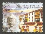 Stamps India -  Drukpa, linaje del budismo