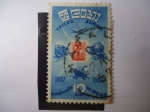 Stamps Sri Lanka -  Ceylon - 1857-1957