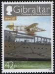 Stamps Gibraltar -  Short S27