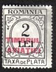 Sellos de Europa - Rumania -  Timbrul Aviatiei