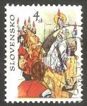 sello : Europa : Eslovaquia : 267 - Descenso del Espíritu Santo