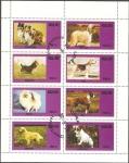 Stamps : Asia : Nagaland :  Perros de raza