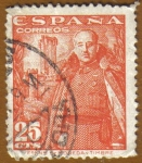 Stamps Spain -  Franco y Castillo de la Mota