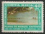 Sellos de America - Costa Rica -  Playas de Manuel Antonio (837)