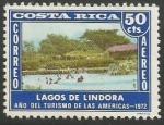 Sellos del Mundo : America : Costa_Rica :  Lagos de Lindora (839)