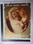 Stamps of the world : Hungary :  Pintor: Brocky Károly - Oleo Ébredés.