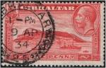 Stamps Gibraltar -  Vista del Peñón