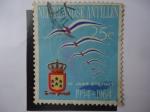 Stamps Netherlands -  Nederland Antillen - 10 Jaar Statuut 1954-1064
