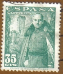 Stamps Europe - Spain -  Franco y Castillo de la Mota