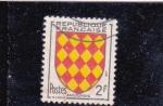 Stamps France -  escudo de Angoumois