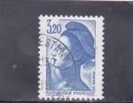 Stamps France -  libertad de Lacroix