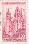 Sellos de Europa - Francia -  catedral de Rouen