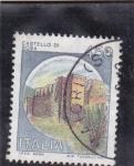 Sellos de Europa - Italia -  castello di Bosa