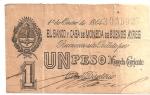 monedas del Mundo : America : Argentina :  billete