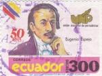 Sellos de America - Ecuador -  Eugenio Espejo UNP 50 años