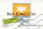 Sellos de Europa - Francia -  reciclaje