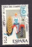 Sellos de Europa - España -  XXV aniv. feria del campo