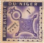 Sellos del Mundo : Africa : Níger :  emblema