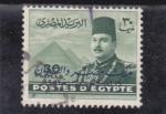 Sellos de Africa - Egipto -  rey Faruk