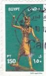 Sellos de Africa - Egipto -  figura egipcia