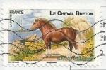 Sellos de Europa - Francia -  Cheval Breton
