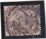 Stamps Egypt -  pirámide y efigie