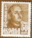 Stamps Europe - Spain -  General FRANCO