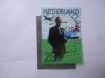 Sellos de Europa - Holanda -  Principe Berndared - S/492.