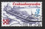 Sellos de Europa - Checoslovaquia -  Industria Transporte - Trinec