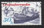 Sellos del Mundo : Europa : Checoslovaquia : Checoslovaco Transporte Marítimo