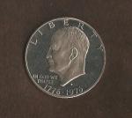 monedas del Mundo : America : Estados_Unidos :  Eissenhower  (anverso) / VENDIDO