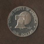 monedas del Mundo : America : Estados_Unidos :  Eissenhower  (reverso) / VENDIDA