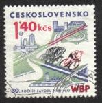 Sellos del Mundo : Europa : Checoslovaquia : Spartakiada invierno