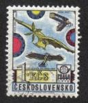 Sellos de Europa - Checoslovaquia -  Historia de la Aviación
