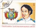 Sellos del Mundo : America : Cuba :  M.A.Padilla-História latinoamericana