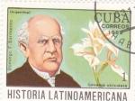 Sellos del Mundo : America : Cuba :  Domingo F.Sarmientos-História latinoamericana