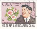 Sellos del Mundo : America : Cuba :  Pablo Neruda-História latinoamericana