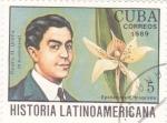Stamps Cuba -  Pedro H.Ureña-História latinoamericana