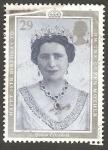 Stamps United Kingdom -  1470 - Reina Elizabeth