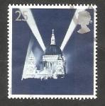 Sellos de Europa - Reino Unido -  1818 - 50 anivº del fin de la Segunda Guerra Mundial, Catedral Saint Paul de Londres