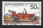 Sellos de Europa - Checoslovaquia -  Automóviles Clásicos - Laurin & Klement ( 1914 )