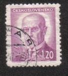 Sellos del Mundo : Europa : Checoslovaquia : Tomáš Garrigue Masaryk