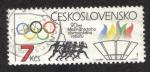 Sellos del Mundo : Europa : Checoslovaquia : 90 años IOCr