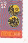 Stamps Mexico -  olimpiada México-68